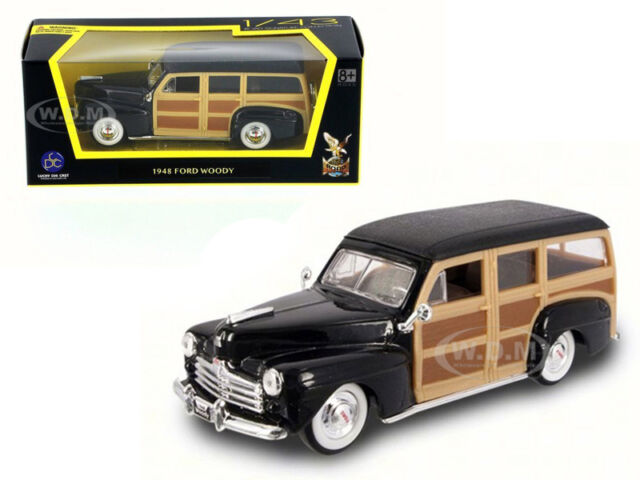 Road Signature 1948 Ford Woody Black 94251-1//43 Scale Diecast Model Toy Car