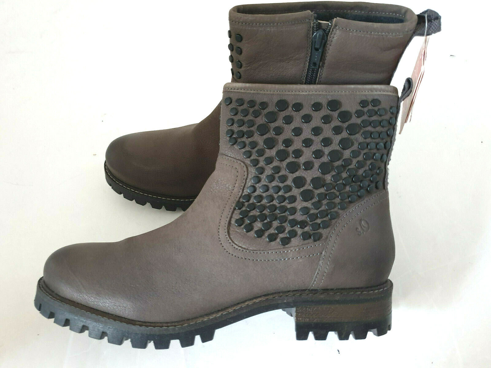 mujer S. Oliver botas Ankle botas Studded Real Leather Talla 40,41