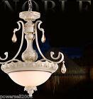 European Retro Style 3*Lights Iron+Glass Diameter 59 CM Crystal Chandelier