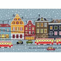 Tram Route Counted Cross Stitch Kit - Notm334894 on sale