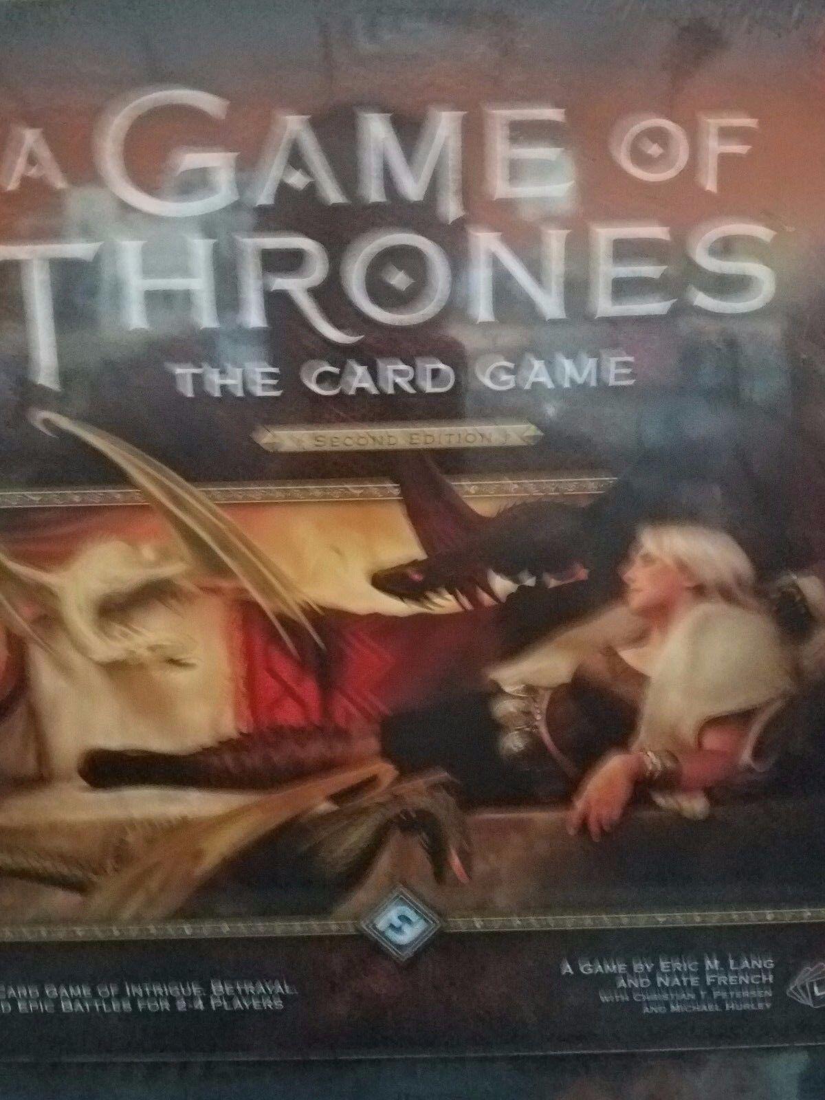 Ein game of thrones lebenden kartenspiel lcg 2nd edition kern basisbeschreibung brettspiel neu