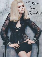 SOPHIE DAHL Signed 10x8 Photo VOGUE FASHION Model COA
