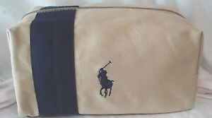 Image Is Loading New Ralph Lauren Polo Cosmetic Travel Case Bag