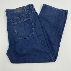 Beverly-Hills-Polo-Club-Jeans-Mens-46X32-Blue-Straight-Leg-Cotton-Medium-Washed