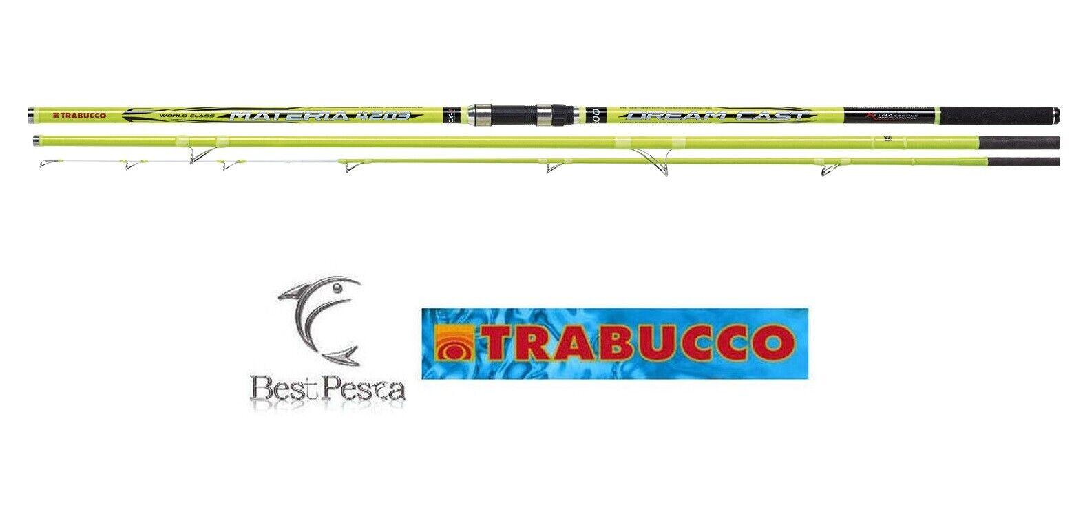 Canna Surf Casting - Trabucco MATERIA DREAM CAST LC - 4.2mt - 200gr