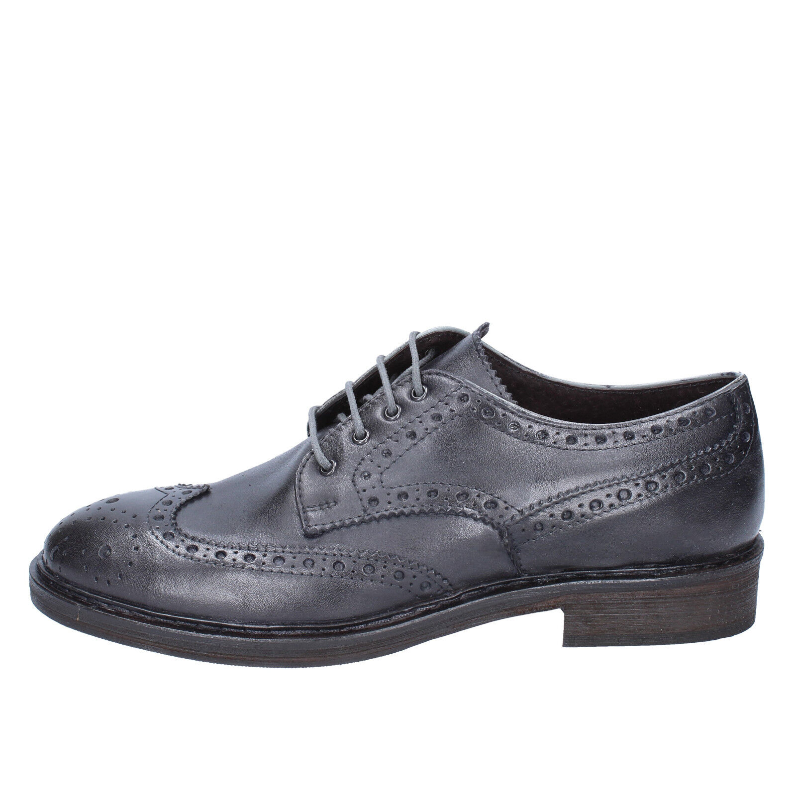 scarpe uomo CESARE grigio MAURIZI 41 EU classiche grigio CESARE pelle BX504-41 76d868