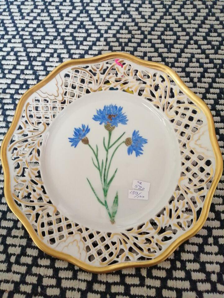 porcelæn platte / Skål, Håndmale