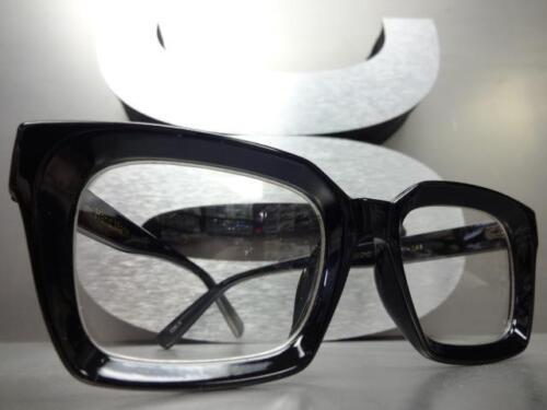 Classico da Uomo Vintage 15.2ms Stile Retro Lenti Trasparenti Occhiali Vista