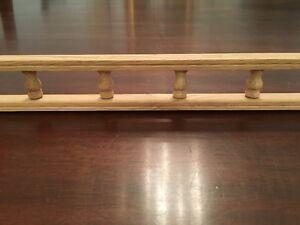 Details About Ornamental Molding S Solid Oak Decorative Galley Rail 2 1 4 X 72