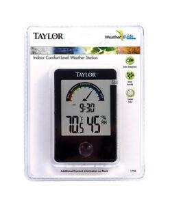 Taylor-Comfort-Level-Hygrometer-Digital-Thermometer-Plastic-Black