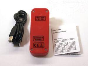 Reseteador-de-chip-para-Canon-CLI-571-PGI-570-Cartuchos-Redsetter-Unlimited