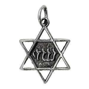 Blessed-Shedai-on-Star-of-David-Pendant-Silver-925-Jewish-Magen-David-Jerusalem
