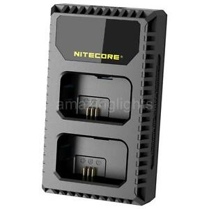 Nitecore-USN1-2-Slot-Sony-Camera-Battery-Charger-for-Sony-NP-FW50-Batteries