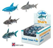 Kids Bath Time Play Wind Up Shark Clockwork Fish Toy Child Party Bag Fillers NEW