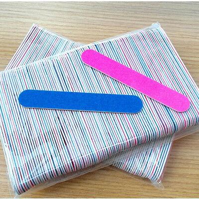 15 pcs Women Buffer Sandpaper Grit Sanding Files Nail Manicure Art Pink New JB1