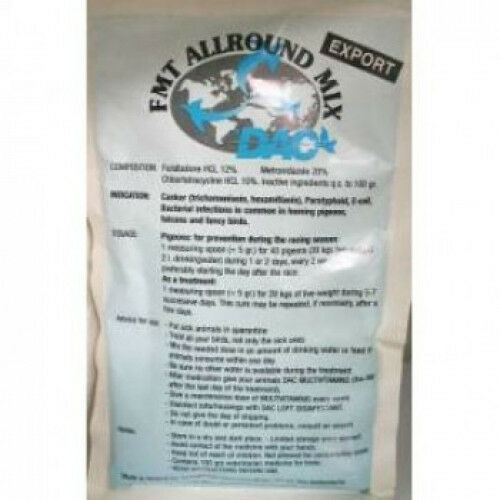 5 in 1 Pigeon Product by DAC for Racing Pigeons FMT Allround Mix