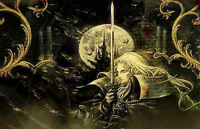 Castlevania Symphony of the Night Wall Poster - 22 in x 34 in - Fast Shipping