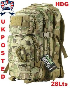 KOMBAT-UK-28L-MULTICAMO-BTP-MTP-ASSAULT-MOLLE-PACK-RUCKSACK-New-British-Army-TA