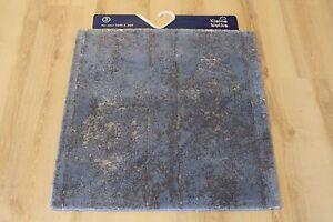Badteppich Badematte Kleine Wolke Caracas 754 Iceblue 60x60 cm | eBay