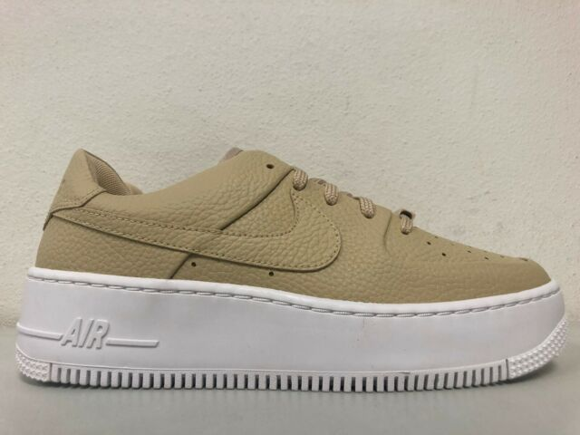 nike air force 1 sage low bianco