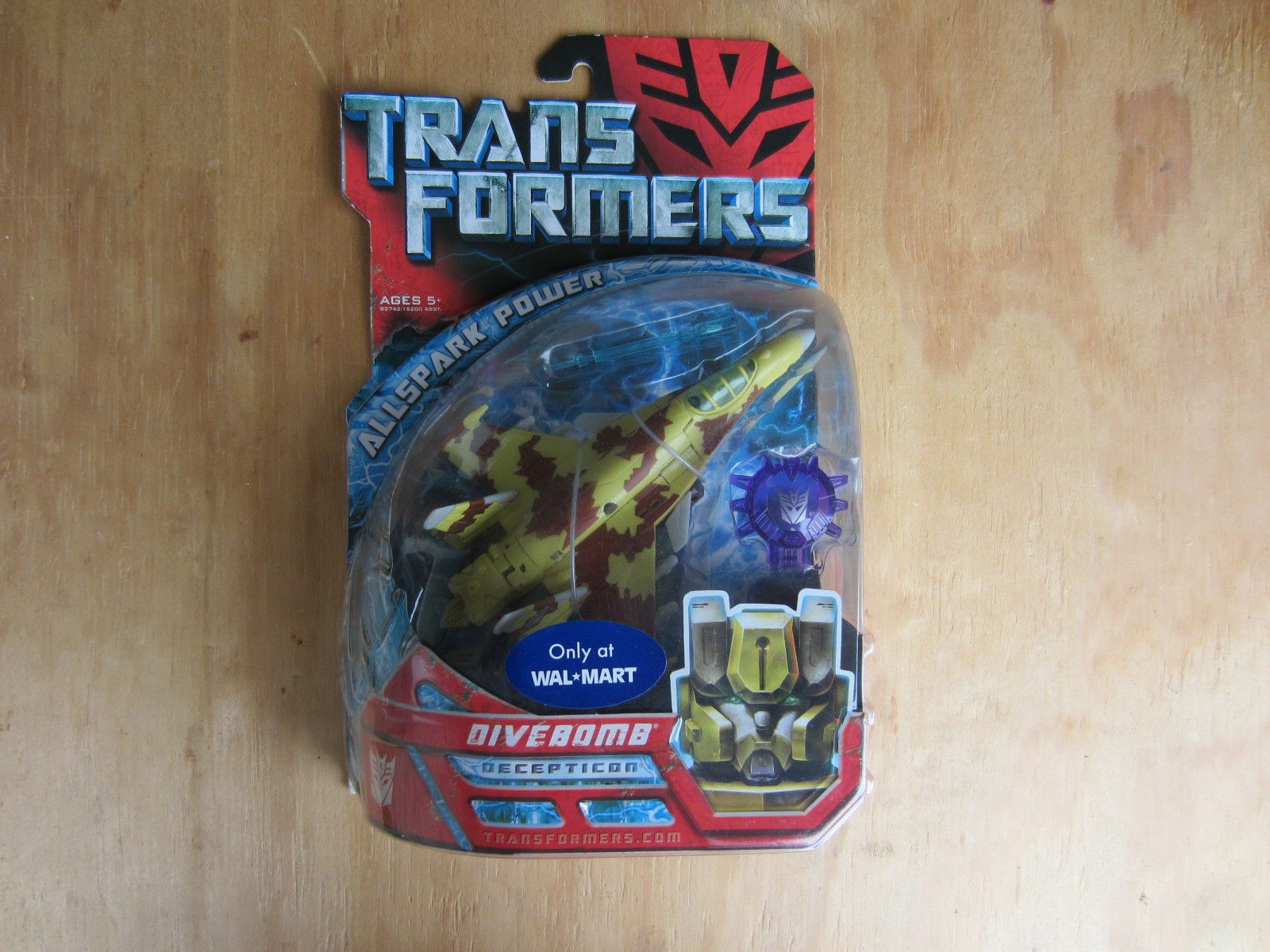 Transformers movie deluxe class wal-mart Exclusive Decepticon Divebomb 2007 new