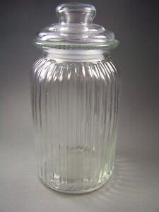 Das Bild Wird Geladen Schoene VINTAGE Bonboniere  Bonbonglas Vorratsglas Glas Mit Deckel