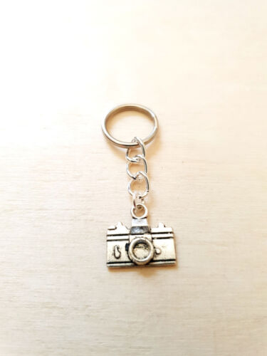 Kamera Schmuckanhänger ♥ Geschenkidee Schlüsselanhänger ♥ Handgefertigt