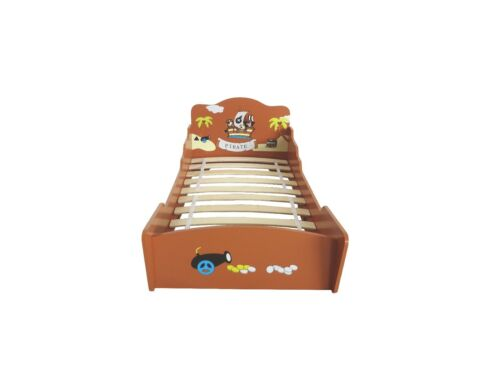KIDDI style Childrens Pirate Ship//boat Wooden Junior Bed Childs Kids Cotbed