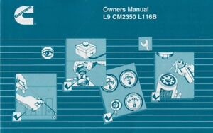 Details about Cummins Manual L9 CM2350 L116B Paperback