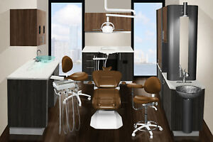 Complete Dental Office New Cabinets Chair Combo Signature Custom