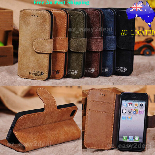 New Leather Stand Case Cover Flip For Samsung Galaxy S6/S7/S8/ S8 Plus/Note 8