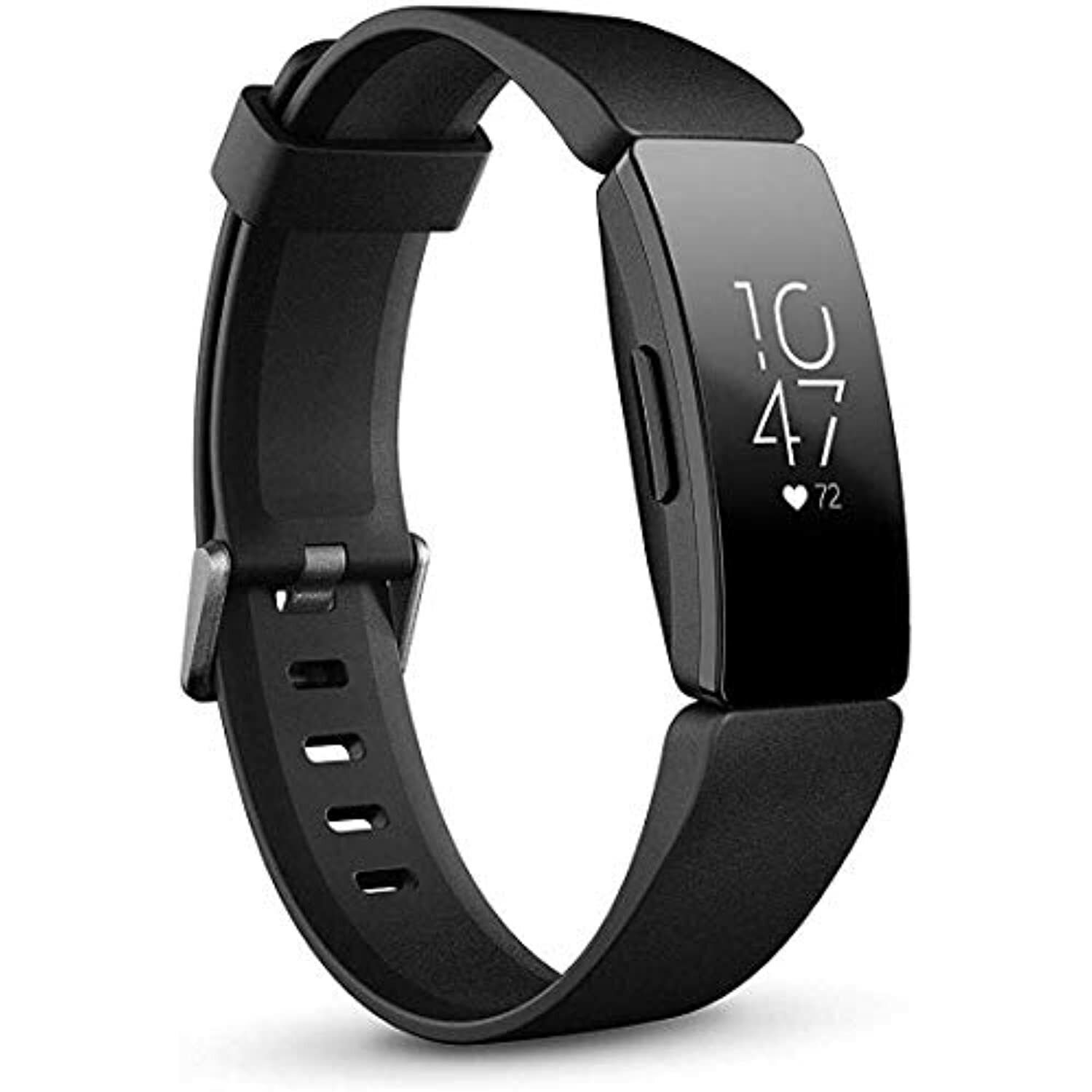 Fitbit Inspire HR Heart Rate and Fitness Tracker, One Size (S and L Bands