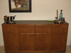 Image Is Loading Mid Century Modern Henredon Dining Room Set Sideboard