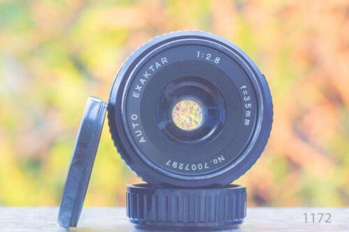 Exaktar auto 35 mm f 2.8 MFT puede ser adaptado Sony NEX m42 Mount lente para eos