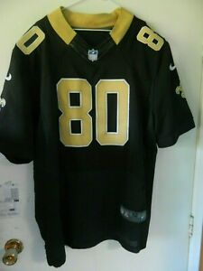 new concept e7a3b 9a5ce Details about New Orleans Saints jersey #80 Jimmy Graham Nike size 52 all  stitched classic