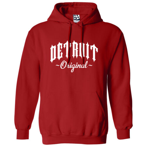 Detroit Original Outlaw HOODIE Hooded OG Straight Outta Sweatshirt All Colors