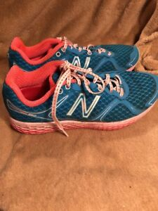 designer fashion 82b7a 07bad Details about New Balance 980 Fresh Foam Womens Running Shoes Size 9.5 Blue  Pink 5648