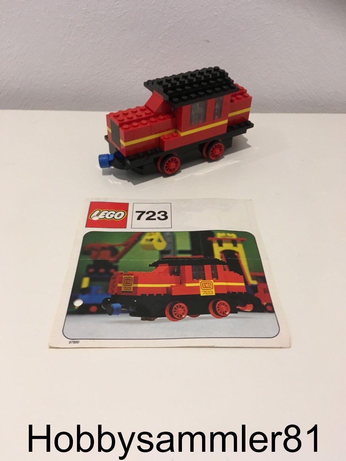 Lego® 723 Diesellokomotive 12V / Lokomotive / Lok / Zug / Bahn / Eisenbahn