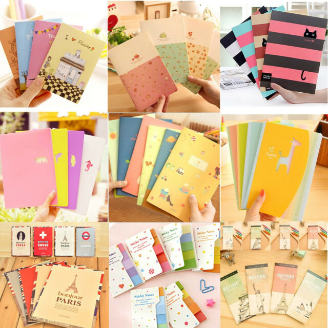 Vantage Mini Diary Notebook Writing Paper Journal Travel Pocket Planner Note Pad