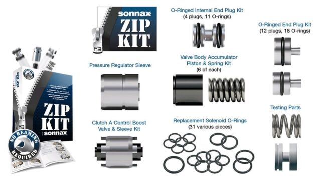 Ford 6R60 6 Speed Automatic Transmission Problem Solving Sonnax Zip Kit