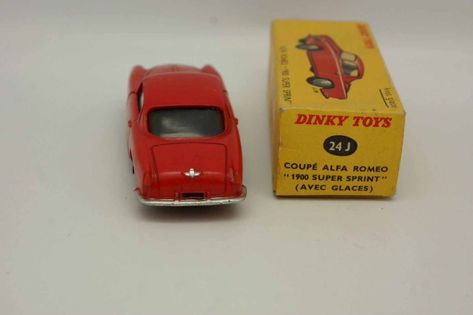 Dinky Toys Francia 1/43 - Alfa Alfa Alfa Romeo 1900 Super Sprint Rosso 24J + Scatola 7090fb