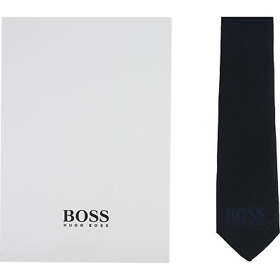 Hugo Boss Kids Cravatta In Pura Seta J20z09 Nuovo F/s2019 Tg. T2-mostra Il Titolo Originale