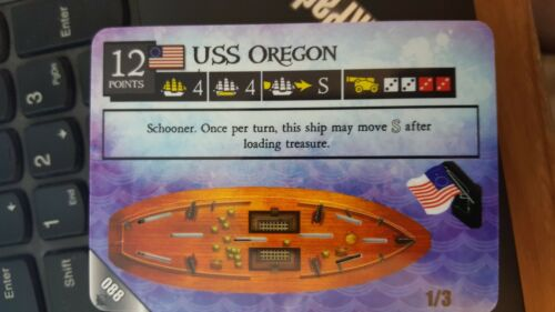 Pirates At Ocean/'s Edge #088 USS Oregon Pocketmodel NrMt-Mint