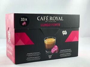 132-Kapseln-Cafe-Royal-fur-Nespresso-der-Sorte-Classic-Lungo-Forte-6-38-100gr