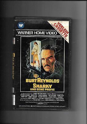 Vhs Rarität Sharky Seine Profis 1981 Burt Reynolds Keine Dvd Ebay