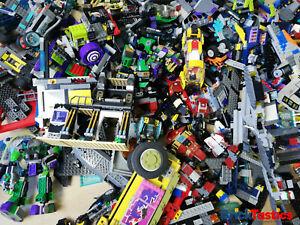 SUPERHEROES-1KG-850PC-039-S-LEGO-CREATIVITY-PACKS-BULK-3-FIGS-MARVEL-amp-DC-COMICS