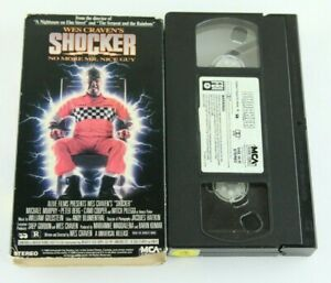 Wes-Craven-039-s-Shocker-VHS-80s-Horror-1989-Cult-Film-Slasher-Horace-Pinker