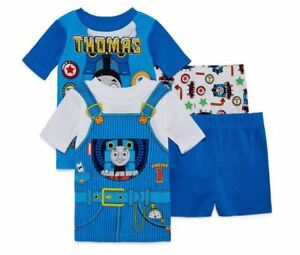 Thomas /& Friends Toddler Boys 4pc Snug Fit Pajama Pant Set Size 2T 3T 4T $42