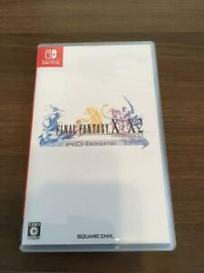 Final-Fantasy-X-X-2-HD-Remaster-Nintendo-Switch-from-Japan-USED-w-Tracking