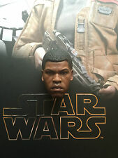 Hot Toys Star Wars Force Awakens FN-2187 Finn Head Sculpt loose 1/6th scale